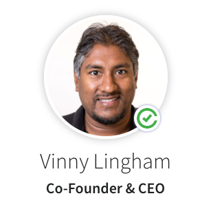 Vinny Lingham verified profile